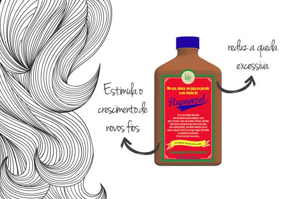 Shampoo Rejuvenescedor Rapunzel Lola Cosmetics