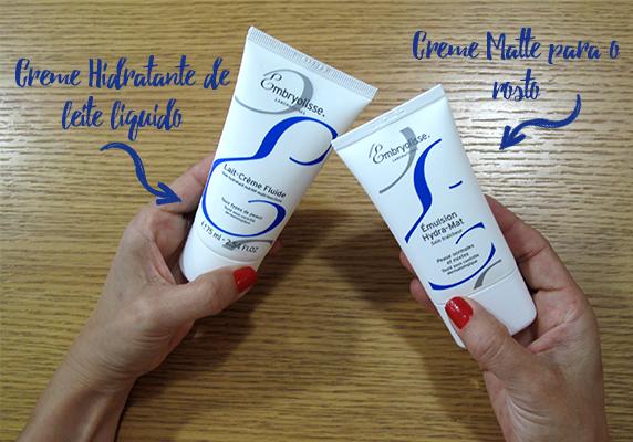 Creme Hidratante de Leite Líquido e Creme Hydra Mat Embryolisse Beautylist Beautyzine